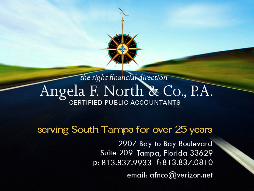 South Tampa CPA - Angela F North - Certified Public Accountants